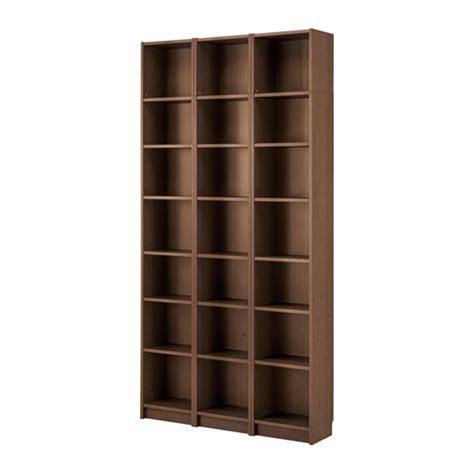 billy bookcase billy bookcase brown ash veneer 47 1 4x93 1 4x11 quot ikea