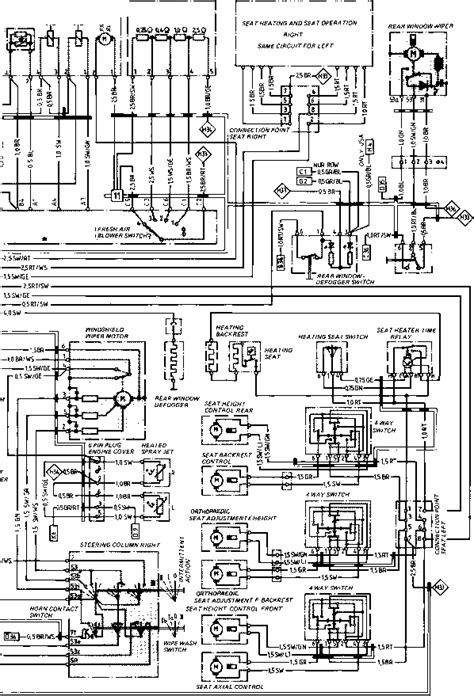 service manuals schematics 1983 porsche 944 security system wiring diagram type 944944 turbo model 852 page porsche 944 electrics