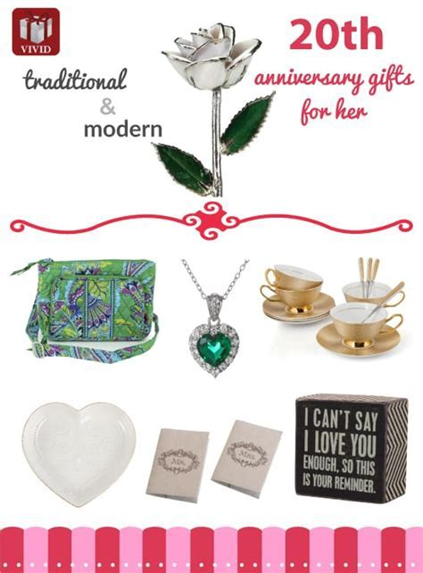 Best 20th Anniversary Gift Ideas for Her   VIVID'S