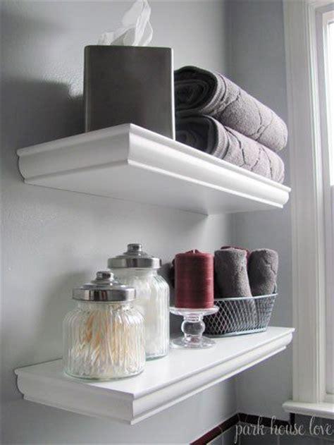 17 best ideas about floating shelves bathroom on pinterest 19 best half bath shelving above the toilet images on