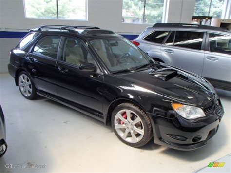 black subaru hatchback image gallery 2007 wrx wagon
