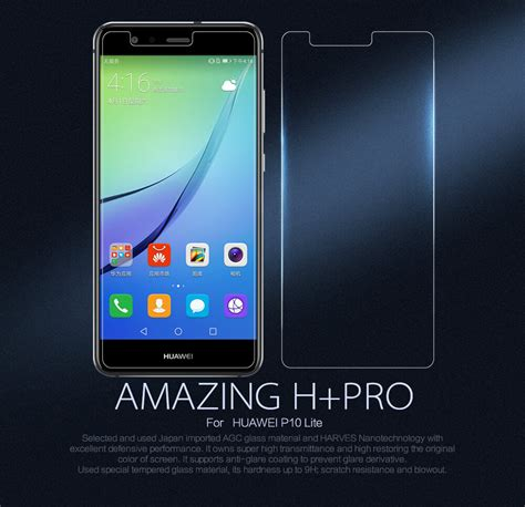 Huawei P10 Plus Tempered Glass Nillkin Amazing H nillkin amazing h pro tempered glass screen protector for