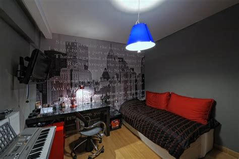 Living Room Decorating Ideas Apartment lighting in a musical studio
