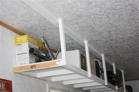 Project On Your Ceiling by Overhead Garage Storage Do It Yourself Home Projects