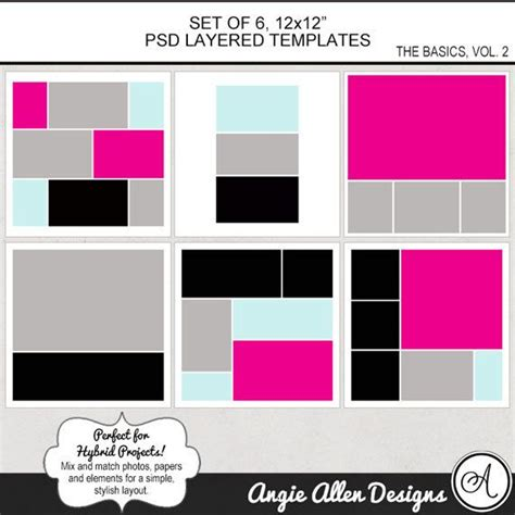 free scrapbook templates for photoshop elements 138 best images about digital scrapbooking on pinterest
