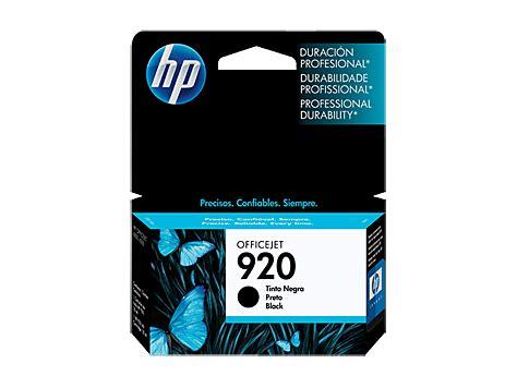 Cartridge Hp 920 Black Original Berkualitas original hp black ink cartridge 920 cd971al