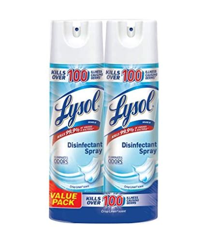 lysol disinfectant spray   shipped reg price
