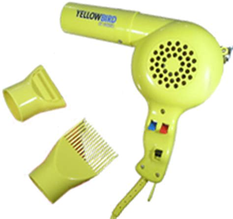 Conair Hair Dryer Yellowbird conair yellow bird 1875 watts hair dryer yb075w