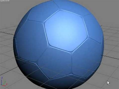 How To Make A 3d Football Out Of Paper - 3ds max tutorial how to make a simple football soccer