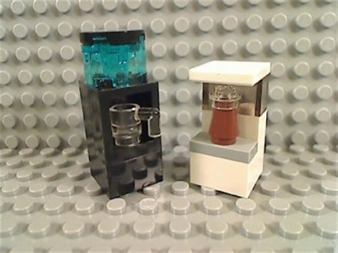 Water Dispenser Lego lego black water dispenser white coffee maker cup office building house city ebay
