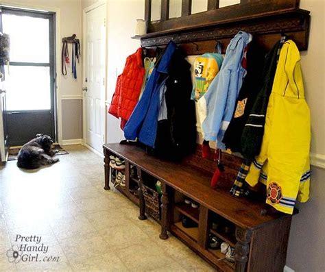 Front Door Coat And Shoe Storage Mudroom Bench And Coat Rack
