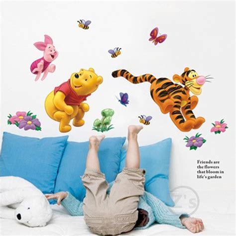 winnie the pooh home decor aliexpress com buy winnie the pooh wall sticker home