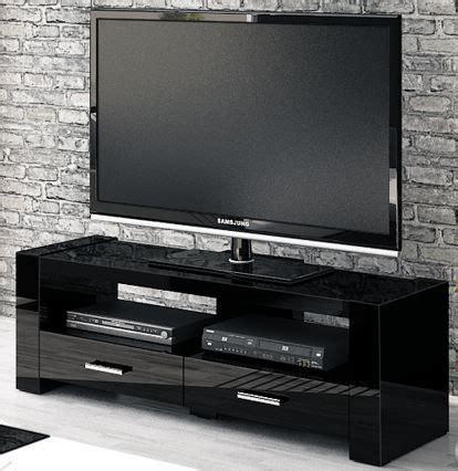 h et m deco 841 meuble tv design laqu 233 noir meubles tv hifi vid 233 o