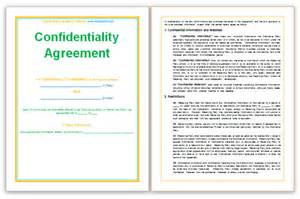 Template Confidentiality Agreement Confidentiality Agreement Template Templates Platform
