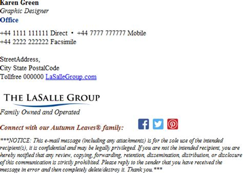 email signature exles email disclaimers exclaimer