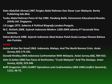 Sejarah Indonesia Modern 1200 2008 M C Ricklefs 2 ppt konflik bersenjata di perbatasan sabah kalimantan
