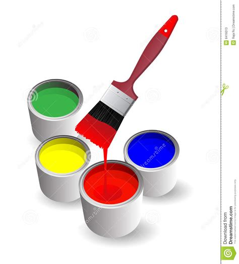 paint images paints stock photos image 8416013