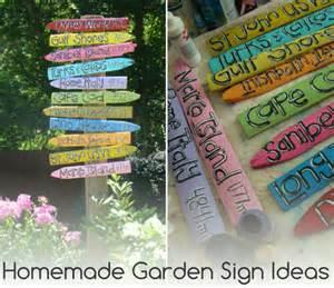 garden sign ideas garden ideas and garden design