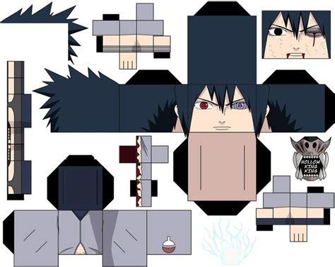 Sasuke Papercraft - sasuke vs by hollowkingking on deviantart