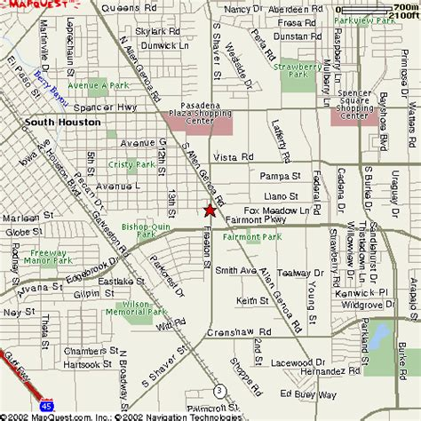 pasadena texas map pasadena memorial stadium