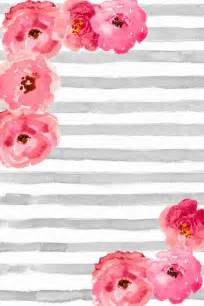 Blue Grey Striped Curtains Best 25 Pink Floral Background Ideas On Pinterest
