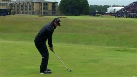 jason day iron swing jason day iron swing 16th st andrews youtube