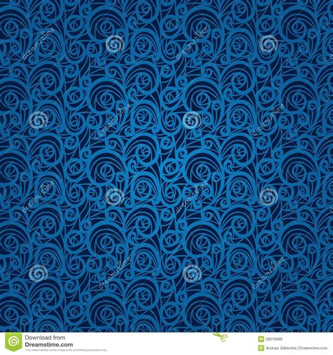 imagenes vintage azul teste padr 227 o floral do vintage azul em um fundo escuro
