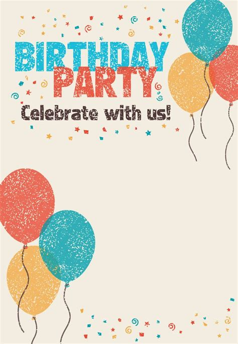 25 best birthday invitations ideas on pinterest 30th