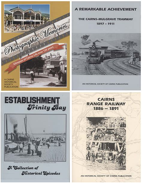 History Research Papers For Sale by Cairns Historical Society Publications Cairns Museum