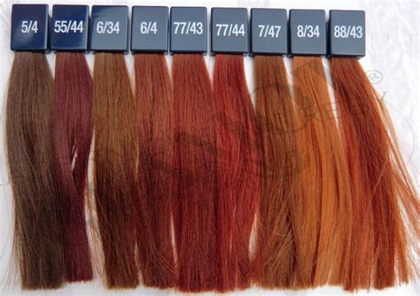 colour chart of the hair colour brand wella koleston wella koleston perfect vibrant reds glamot com beauty