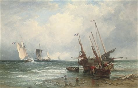 fishing boats for sale rsa edmund thornton crawford r s a scottish 1806 1885