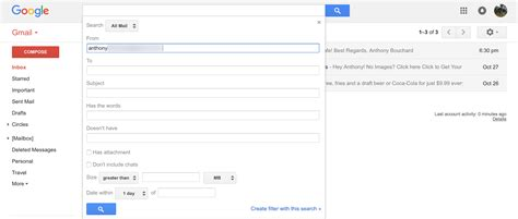 Search For An Email In Gmail How To Create Email Via Filtering In Gmail