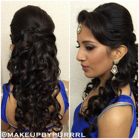 Hairstyles For With Hair by 27 Best Hairstyles For Sarees In 2017 New Ideas You Will