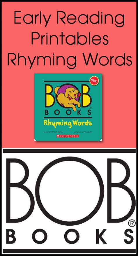three words books early reading printables bob books rhyming words books 3