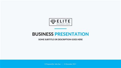 Elite Corporate Powerpoint Template Best Business Presentation Temp Best Corporate Presentation Templates