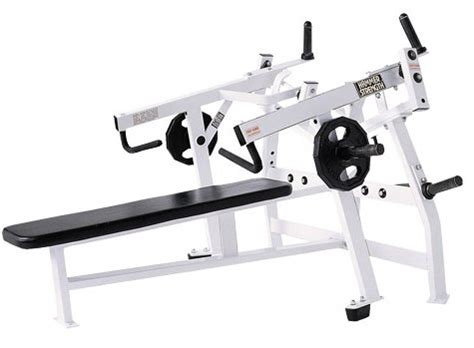 plate loaded bench press hammer strength plate loaded iso lateral horizontal bench