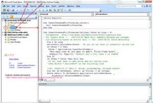 image gallery macro programming in excel