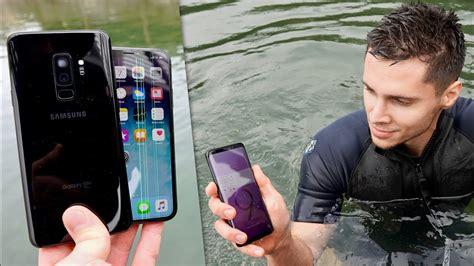samsung galaxy   iphone  water test secretly