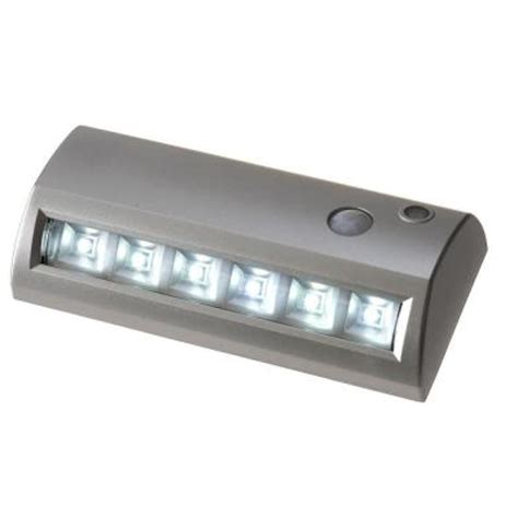 lightit 6 in silver wireless motion activated led