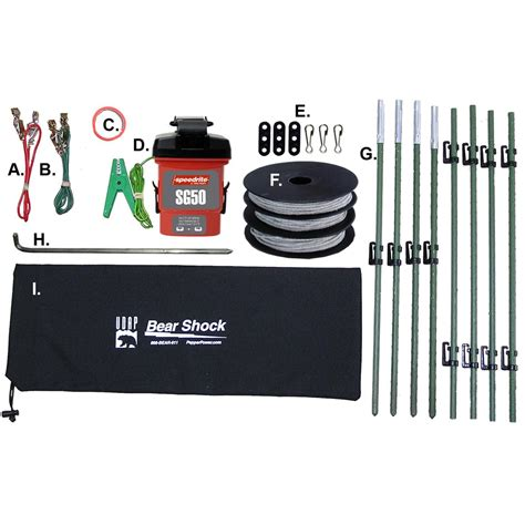 shock fence udap 174 shock electric fence 170710 other accessories at sportsman s guide