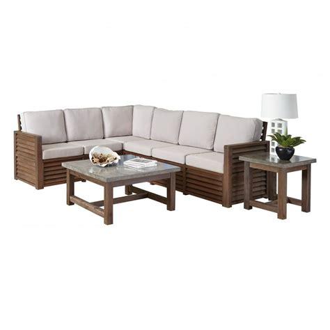 barnside 80 5 x 104 5 corner quot l quot sofa end table and