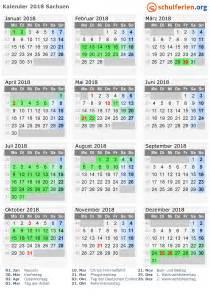 Kalender 2018 Mit Ferien Sachsen Kalender 2018 Ferien Sachsen Feiertage