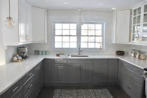 Grey And White Kitchen Cabinets by Kitchen Grey Kitchen Colors With White Cabinets Dry Food