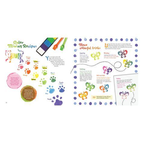Klutz Stencil Book Kit by Klutz Stencil Book Kit The Editors Of