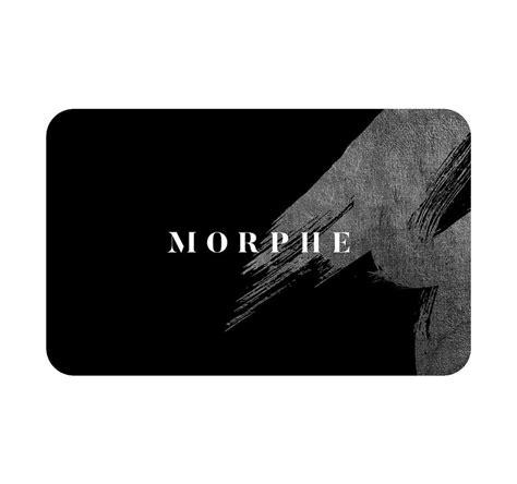 Morphe Gift Card - gift card morphe us