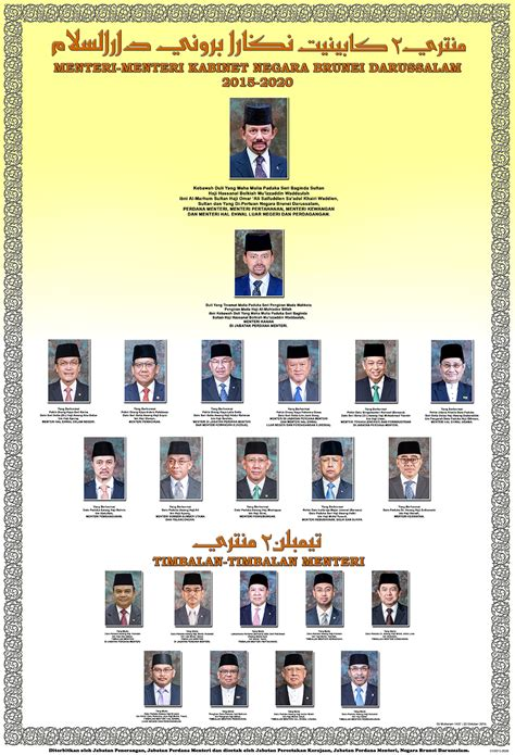 information department cabinet ministers brunei darussalam