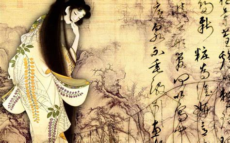 classic japanese wallpaper japanese geisha wallpapers wallpaper cave