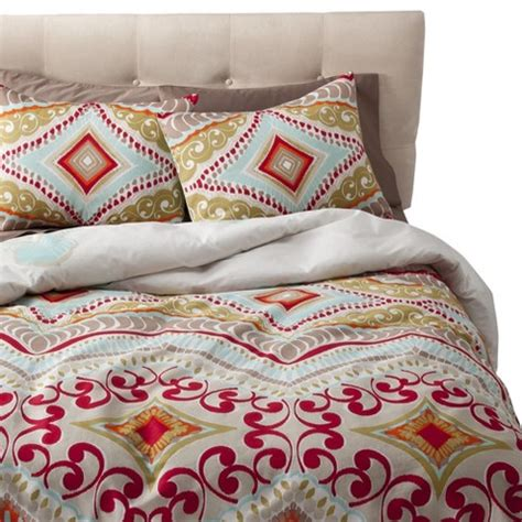 bed sheets target utopia reversible duvet cover set multicolor b target