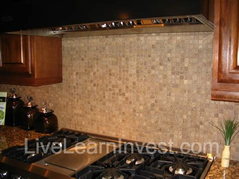 mosaic tile backsplash kitchen granite countertops and kitchen tile backsplashes 3