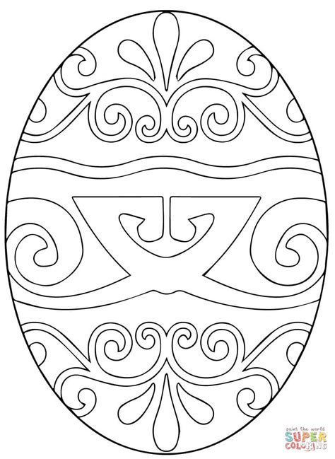 pysanky eggs coloring page ukrainian eggs coloring pages books coloring pages